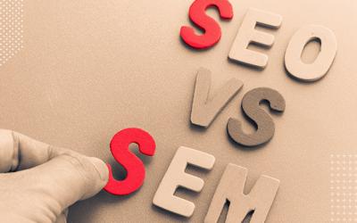 Qual a diferença entre SEO e SEM?